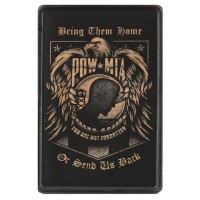 Pow Mia Vintage Leather Patch