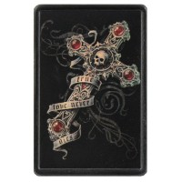 True Love Never Dies Vintage Leather Patch