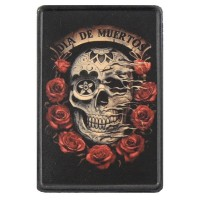 Dia de Muertos Vintage Leather Patch