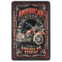 American Biker Vintage Leather Patch