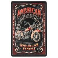 Patch Vintage en Cuir American Biker