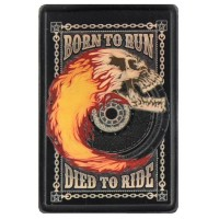 Born to Run Vintage Leather Patch