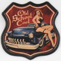 Patch Vintage en Cuir Old School Cool