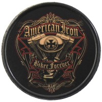 Patch Vintage en Cuir American Iron