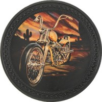 Motorcycle Vintage Leather Patch
