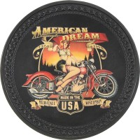 American Dream Vintage Leather Patch