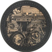 Saloon Vintage Leather Patch