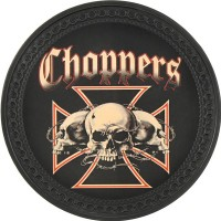 Patch vintage en Cuir Choppers