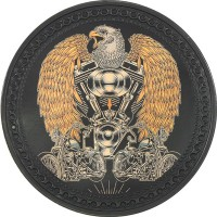 Eagle Vintage Leather Patch