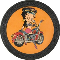 Betty Boop Vintage Leather Patch