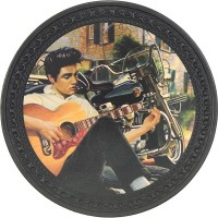 Elvis Vintage Leather Patch
