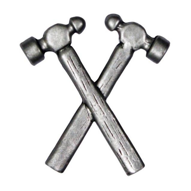 Pin's décoratif Double Marteau