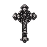 Skulls Cross Pin