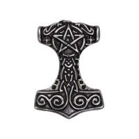 Pin's décoratif Marteau de Thor Biker