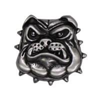 Pin's décoratif Bulldog Biker 100% artisanal