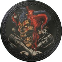 Joker Vintage Leather Patch
