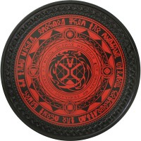 Runes Vintage Leather Patch