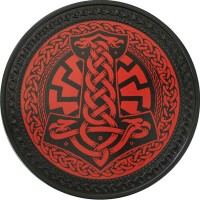 Thor's Hammer Vintage Leather Patch