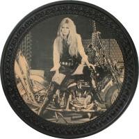 Patch vintage en Cuir Brigitte Bardot