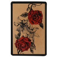 Roses Vintage Leather Patch