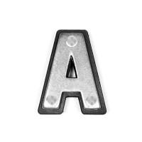 Lettre Conchos à visser Alphabet A