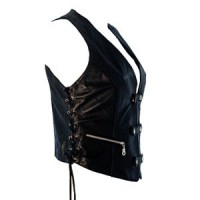 Gilet Lady Rider Noir