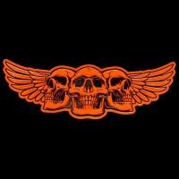 Skull Wings 3D