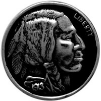 Motif à Riveter Indian Five Cent