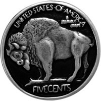 Motif à Riveter Buffalo Five Cent