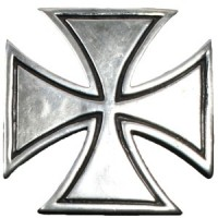 Malta Cross Rivet
