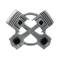 Motif à Riveter Double Piston