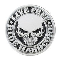 Motif à Riveter Live Free Ride Hardcore