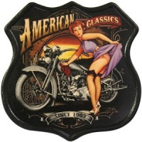 American Classics Vintage Leather Patch