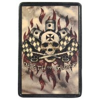 Death or Glory Vintage Leather Patch