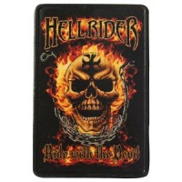 Hell Rider Vintage Leather Patch