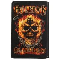 Patch Vintage en Cuir Hell Rider