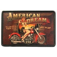 Patch Vintage en Cuir American Dream