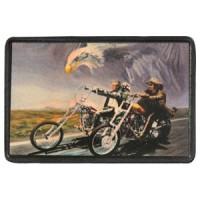 Patch Vintage en Cuir Easy Rider