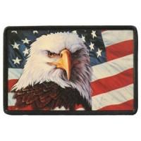 Patch Vintage en Cuir American Symbol