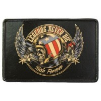 Legends Never Die Vintage Leather Patch