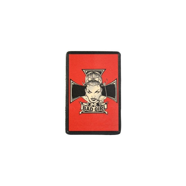 Bad Girl Vintage Leather Patch