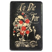 Patch Vintage en Cuir To Die For