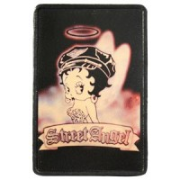 Patch Vintage en Cuir Street Angel