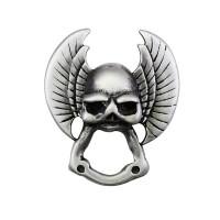 Pin's Porte Lunettes Tête de Mort Biker 100% artisanal