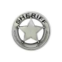 Pin's décoratif Sheriff Biker 100% artisanal