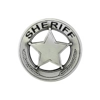 Sheriff Pin Biker 100% craft