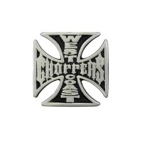 West Coast Choppers Pin Biker 100% craft