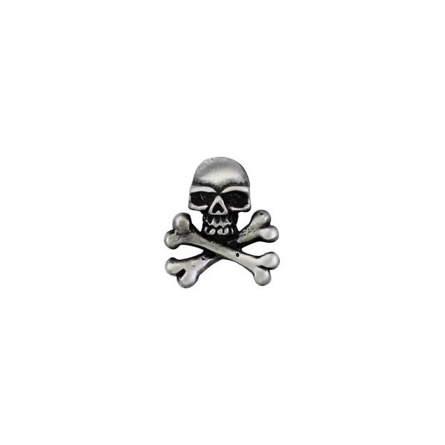 Mini Skull Pin Biker 100% craft