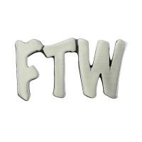 Pin's décoratif FTW Biker 100% artisanal