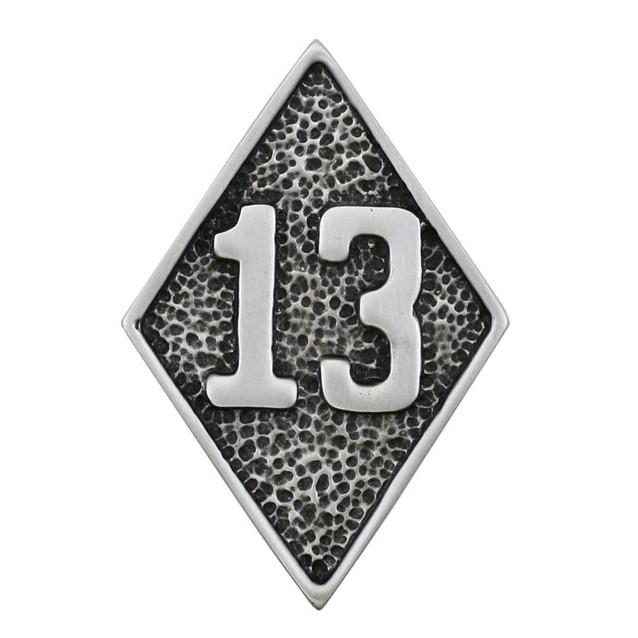 Pin's décoratif 13 biker